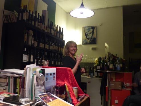 Erzählabend im Weinladen ('Wein & Bild' Hannover)